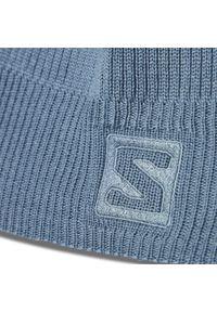 Niebieska czapka zimowa salomon