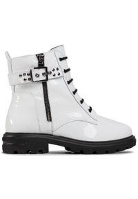 Białe buty trekkingowe Sergio Bardi