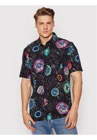 Volcom Koszula Coral Morph A0412110 Czarny Classic Fit. Kolor: czarny
