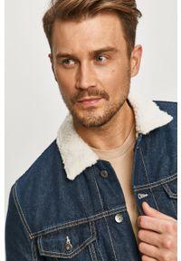 Niebieska kurtka Tom Tailor bez kaptura, casualowa, na co dzień