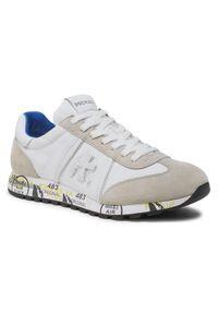 Premiata Sneakersy Lucy 206E Biały. Kolor: biały