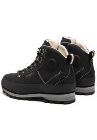 Czarne buty trekkingowe Dolomite Gore-Tex, trekkingowe