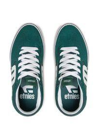 Etnies - Tenisówki ETNIES - Window Vulc 4101000543 Geen/White/Gum 313. Okazja: na co dzień. Kolor: zielony. Materiał: skóra, materiał, zamsz. Szerokość cholewki: normalna. Styl: casual