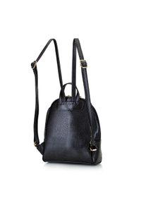 Wittchen - Damski plecak z półokrągłą kieszenią. Kolor: wielokolorowy, złoty, czarny. Materiał: skóra ekologiczna. Styl: klasyczny, elegancki, casual