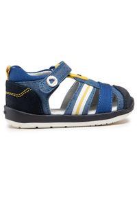 Mayoral - Sandały MAYORAL - 41.306 Jeans 41. Kolor: niebieski. Materiał: materiał. Sezon: lato. Styl: klasyczny #3