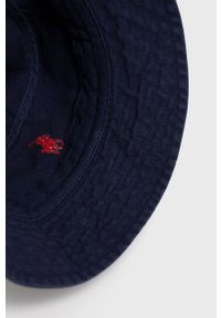 Polo Ralph Lauren - Kapelusz. Kolor: niebieski