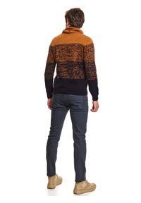 Sweter TOP SECRET z długim rękawem, długi