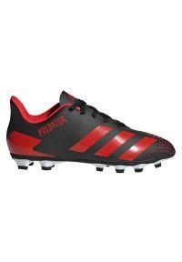 Adidas - Buty piłkarskie korki dla dzieci adidas Predator 20.4 FG EF1931. Materiał: syntetyk, materiał, neopren. Szerokość cholewki: normalna. Sezon: lato. Sport: piłka nożna