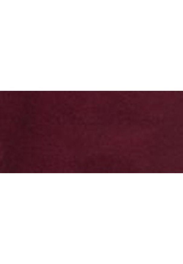 Czerwone spodnie TOP SECRET casualowe, na jesień, na co dzień