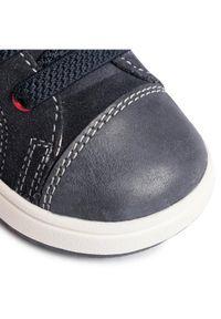 Niebieskie buty zimowe Geox