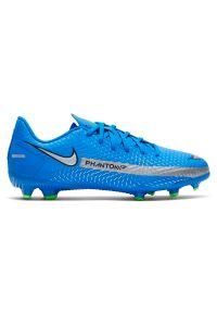 Buty piłkarskie dla dzieci Nike Phantom GT Academy JR FG CK8476. Materiał: syntetyk, skóra. Szerokość cholewki: normalna. Sport: piłka nożna
