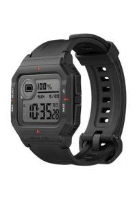 Czarny zegarek AMAZFIT retro, smartwatch