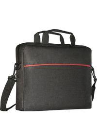 Czarna torba na laptopa DEFENDER
