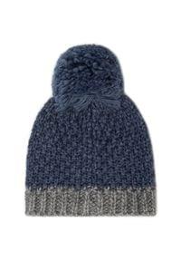 Ugg - Zestaw Czapka i Rękawiczki UGG - K Infant Knit Hat And Mitt Set 18802 Ensign Blue. Kolor: niebieski. Materiał: wełna, akryl, materiał