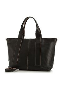 Czarny kuferek Wittchen skórzany, klasyczny