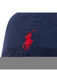Polo Ralph Lauren - Czapka z daszkiem POLO RALPH LAUREN - Hat 710548524007 Navy. Kolor: niebieski. Materiał: materiał, bawełna