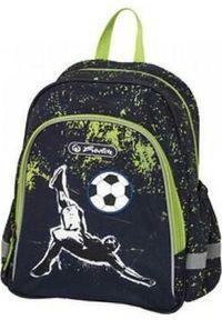 Herlitz Plecak szkolny Kick it 14L czarny (50020706). Kolor: czarny