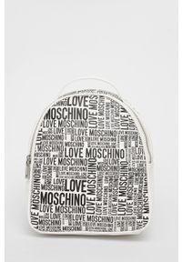 Love Moschino - Plecak. Kolor: biały