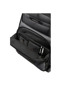 Samsonite - Plecak do laptopa SAMSONITE Pro-Dlx 5 15.6 cali Czarny. Kolor: czarny. Materiał: materiał. Styl: biznesowy