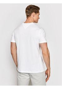 Biały t-shirt Tommy Jeans z nadrukiem