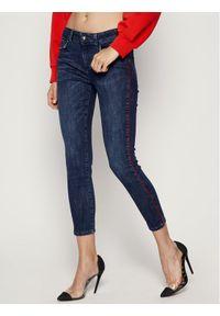 Niebieskie jeansy slim Marella Sport sportowe