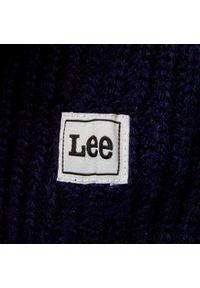 Niebieska czapka zimowa Lee