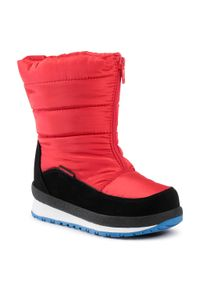 Śniegowce CMP - Kids Rae Snow Boots Wp 39Q4964 Ferrari C580. Okazja: na spacer. Kolor: czerwony. Materiał: skóra, nubuk, materiał