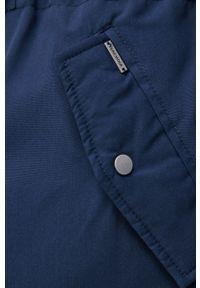 Vero Moda - Kurtka. Okazja: na co dzień. Kolor: niebieski. Materiał: włókno, futro, tkanina, materiał. Wzór: gładki. Styl: casual