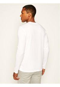 Marc O'Polo Longsleeve B21 2220 52022 Biały Shaped Fit. Typ kołnierza: polo. Kolor: biały. Długość rękawa: długi rękaw