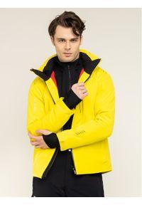 Żółta kurtka sportowa Descente narciarska