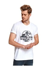 Biały t-shirt TOP SECRET