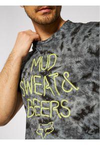 Fox Racing T-Shirt Down N Dirty 26981 Szary Regular Fit. Kolor: szary