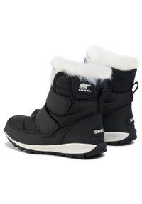 Czarne śniegowce sorel na spacer, z cholewką #7