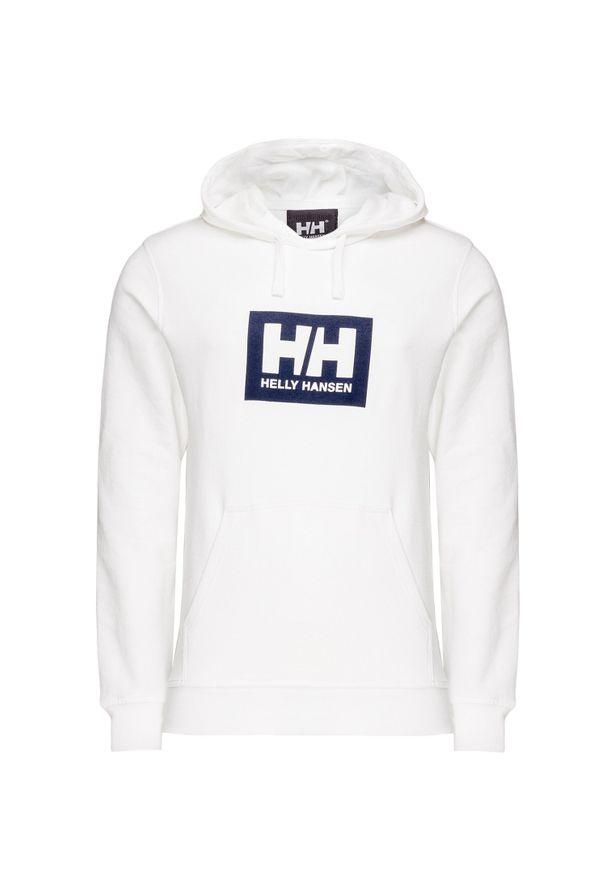 Helly Hansen - Bluza HELLY HANSEN HH BOX HOODIE. Okazja: na co dzień. Typ kołnierza: kaptur. Materiał: bawełna. Wzór: aplikacja, nadruk. Styl: casual