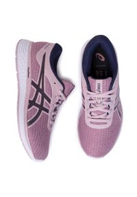 Różowe buty do biegania Asics na co dzień