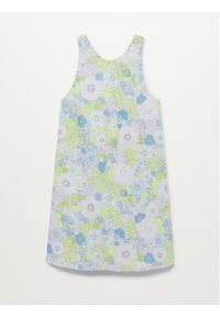 mango - Mango Sukienka letnia Vita 87029404 Kolorowy Regular Fit. Wzór: kolorowy. Sezon: lato