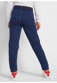Niebieskie jeansy bonprix na co dzień, casualowe
