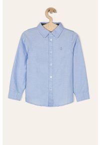 Niebieska koszula Name it na co dzień, długa, elegancka