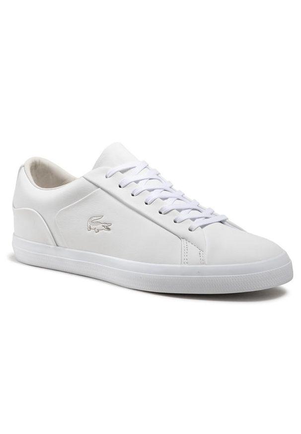 Lacoste Sneakersy Lerond 0921 2 Cma 7-41CMA005165T Biały. Kolor: biały