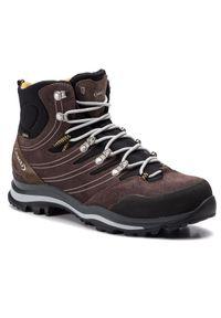 Brązowe buty trekkingowe Aku z cholewką, Gore-Tex