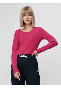 Różowa koszulka z długim rękawem 4f