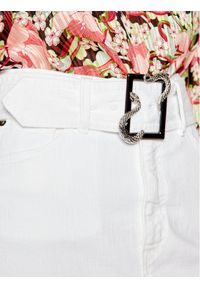 Biała spódnica jeansowa Just Cavalli