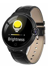 Czarny zegarek GARETT sportowy, smartwatch
