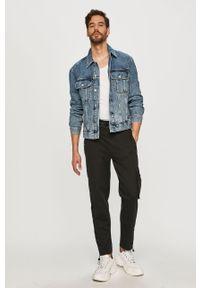 Czarne spodnie dresowe Hugo gładkie