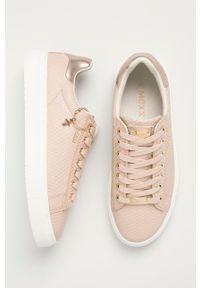 MEXX - Mexx - Buty Crista. Nosek buta: okrągły. Zapięcie: sznurówki. Kolor: różowy. Materiał: skóra, guma