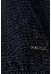 Niebieski sweter JOOP! z długim rękawem, długi