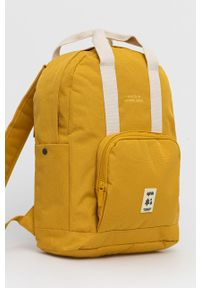 Lefrik - Plecak. Kolor: żółty. Materiał: poliester