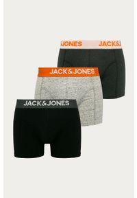 Czarne majtki Jack & Jones z nadrukiem