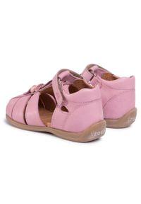 Różowe sandały Froddo na co dzień, z aplikacjami, casualowe #7