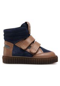 Brązowe buty zimowe Bartek